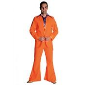 Kostuum 70's oranje
