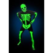 Morphsuit Skelet Glow