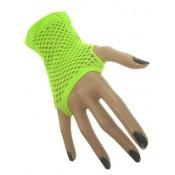 Nethandschoenen Fluor Groen