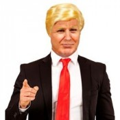 Pruik Donald Trump