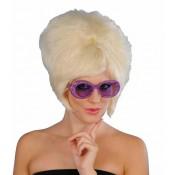 Glitterbril paars