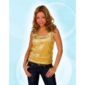 Gouden Pailletten Hemd