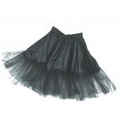 Petticoat zwart - 55cm