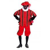 Piet Pak Fluweel San Fernando Rood-Zwart