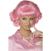 Frenchy Grease Pruik Pink Lady