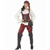 Piraat dame met broek