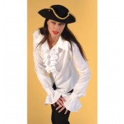 Blouse pirate luxe