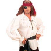 Piratenblouse Wit Heren