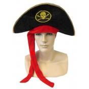 Piratenhoed 'fluwelig'