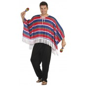 Kleurige Mexicaanse Poncho