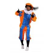 Piet Polyester A Blauw-Oranje