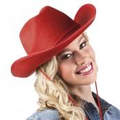 Cowboyhoed Rodeo Rood