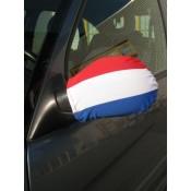 Autospiegelvlag rood-wit-blauw