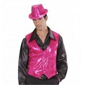 Roze Glittervest Heren