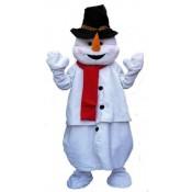 Mascotte Sneeuwman Kostuum