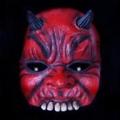 Duivel Half Masker