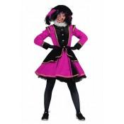 Zwarte Piet Dame Madrid Zwart-Pink