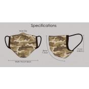 Mondmasker Camouflage Desert Storm