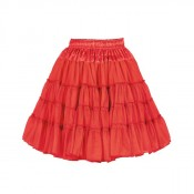 Petticoat luxe Rood 2 laags