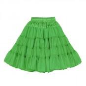 Petticoat Groen, 3-laags Luxe