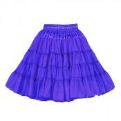 Petticoat Blauw, 3-laags Luxe
