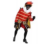 Hoofdpiet Super Luxe Rood-Zwart-Goud