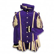 Zwarte Piet  kostuum Malaga polyester
