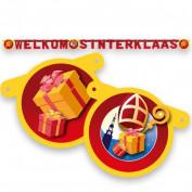 Letterslinger Welkom Sint en Piet