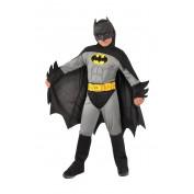 Batman kostuum grijs voor kinderen