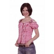 Tiroler blouse emilia rood