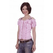 Roze Tiroler blouse
