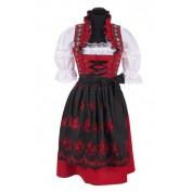 Dirndl jurk lang amalia