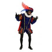 Bennie Stout Kostuum Blauw rood Polyester