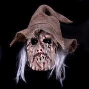 Wormface masker met maden