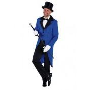 Slipjas blauw voor heren