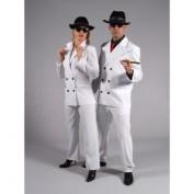 Gangster kostuum wit