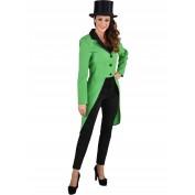 Groene slipjas voor dames