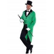 Slipjas groen voor heren