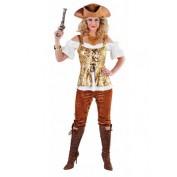 Piratenpak met broek dames