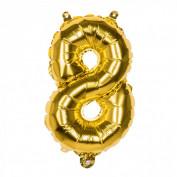Folieballon Goud 8 - 36 cm