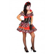 Day of the Dead jurkje rood