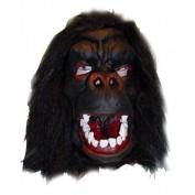 Apenmasker zwart / gorilla