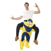 Bananaman Piggy Back kostuum