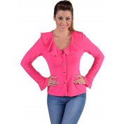 Roze damesblouse Jersey