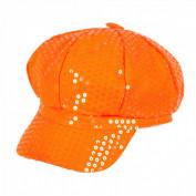 pailletten pet oranje