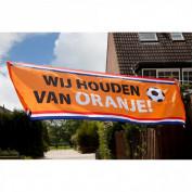 Wij houden van oranje banner