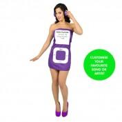 MP3 speler jurkje paars