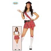 Schots jurkje schoolmeisje