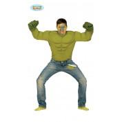 Hulk shirt spieren groen