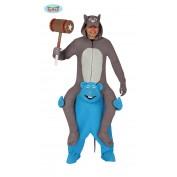 Carry me kat en muis kostuum
